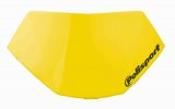 Headlight removable number plate HALO LED yellow RM 01